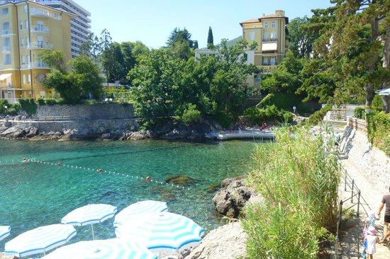 Hotel Miramar: beach