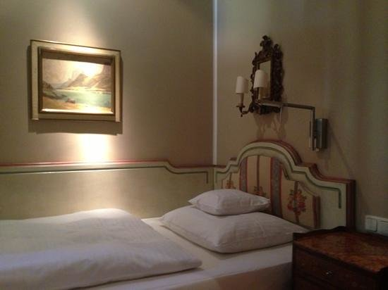 Hotel Splendid-Dollmann: single bed