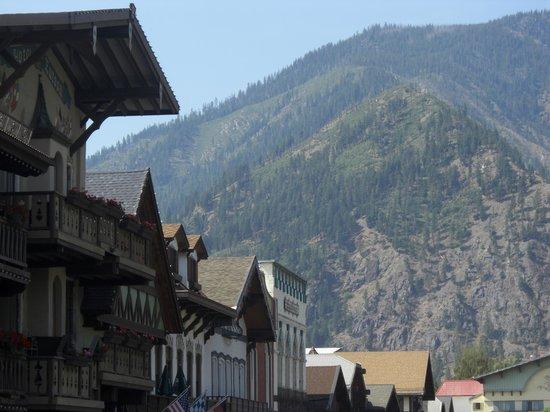 Granite Hills Inn : Great views from Leavenworth