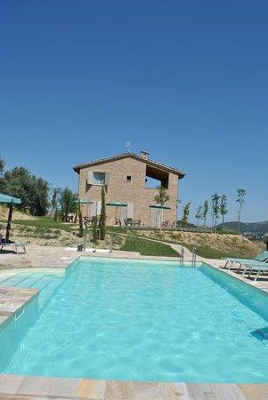 Ca'Lupino: piscina/casa