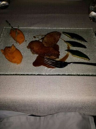 La Menthe Poivrée : Canette avec patate douce et courgette