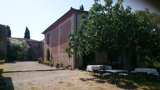 Agriturismo Santa Croce: Recepción