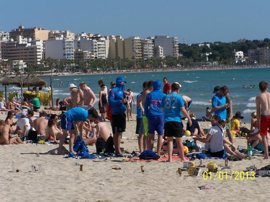 Hotel Pinero Tal: fete permanente sur la plage