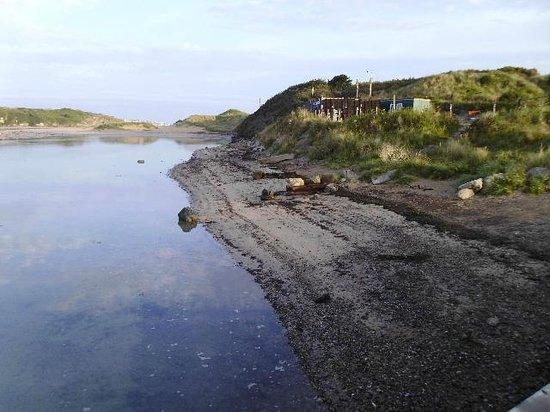 Hayle Towans Beach: Shows loss