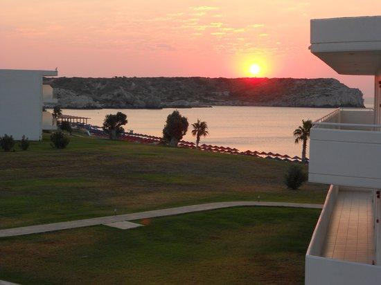 Kolymbia Beach Hotel: l'alba