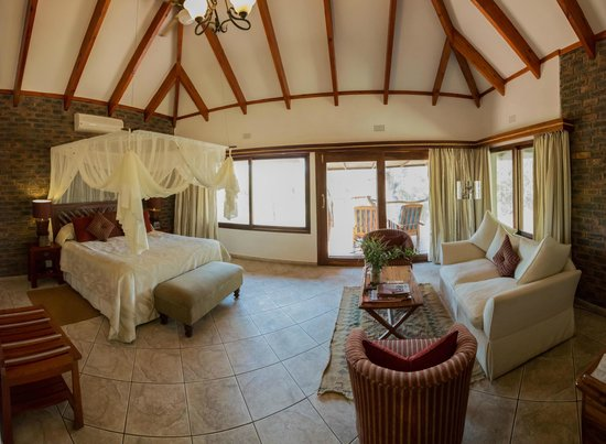 Idube Private Game Reserve Lodge: Our room