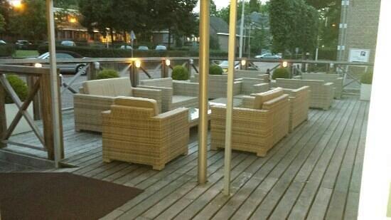 Fletcher Hotel-Restaurant Prinsen: terrace