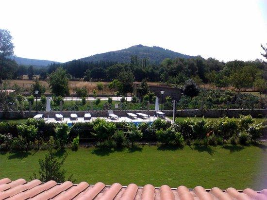 Hotel Casa Reboiro: vistas a la piscina