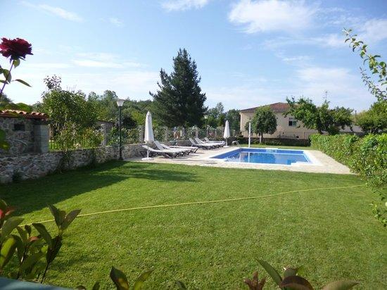 Casa Reboiro: piscina