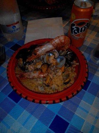Eyem Zemen : cous cous ai frutti di mare