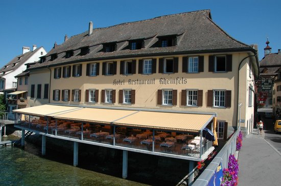 Hotel Rheinfels: Hotel, Terrace & Rooms
