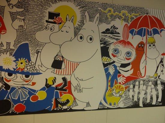 Moomin Shop Forum: 壁にあった絵