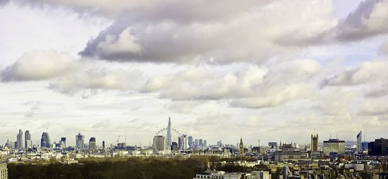 The Park Tower Knightsbridge, A Luxury Collection Hotel, London : View of London Skyline from one of the Penthouse Suites