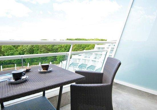 Sanadome Nijmegen : Balkon kamer de luxe