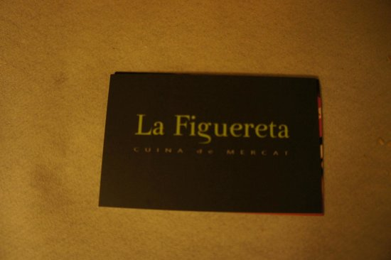 La Figuereta : shop card