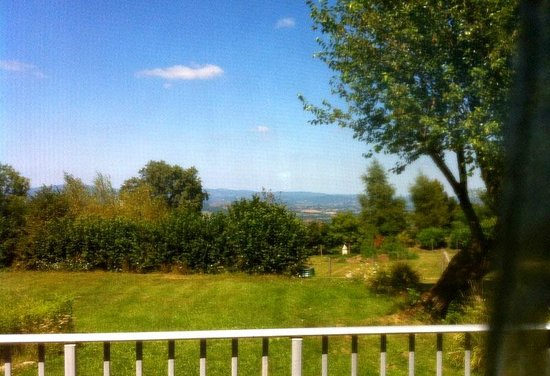 Relais de Dettey: View from dining room