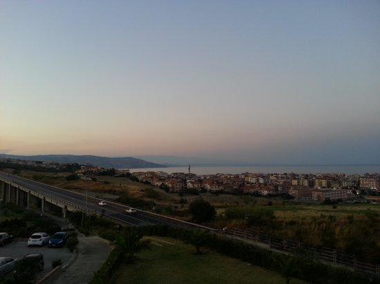Bed&breakfast La Villa: Vista panoramica dalla mansarda