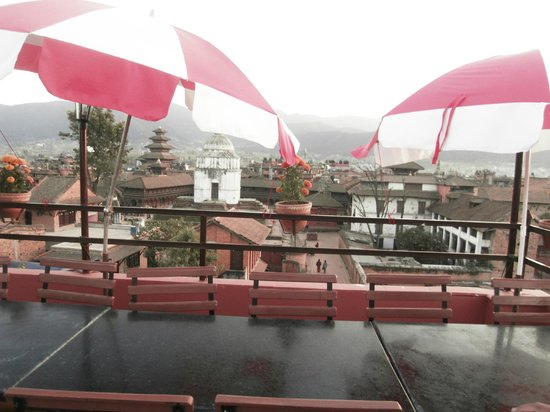Sweet Home Bhaktapur: view form rooftop