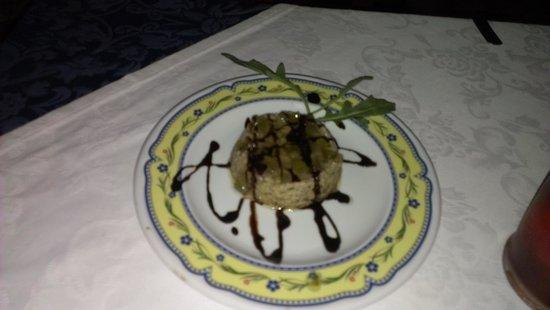 Le Zagare : pesce spada con cedro e cioccolato :-)