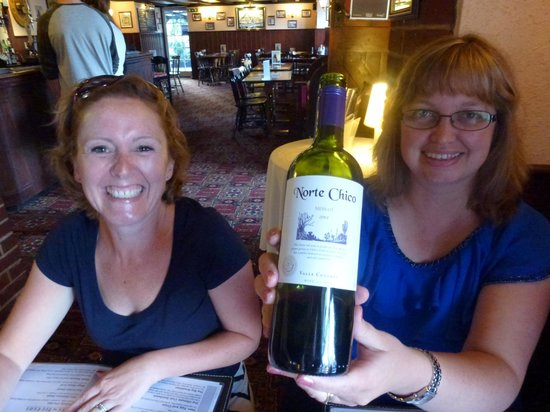 """The George and Dragon Public House: """"Naughty Chics"""" Wine!"""