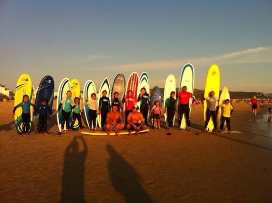 Zahara Surf: family surfing day