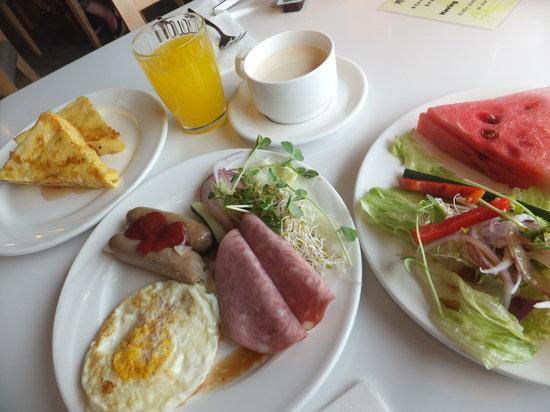 Park City Hotel-Luzhou Taipei: 朝食例