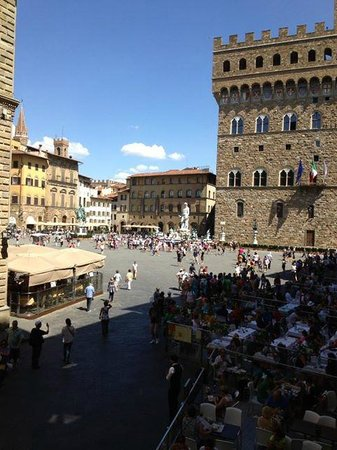 Relais Piazza Signoria: view from room 102