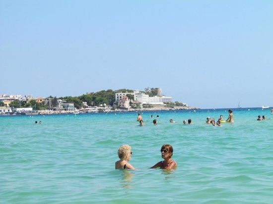 Hotel Sirenetta : La spiaggia e l'isola