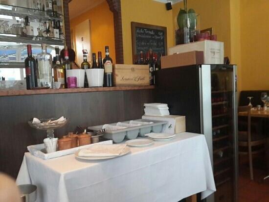 Trattoria La Ruchetta: wine freg