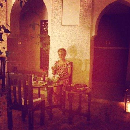 Dar Jaguar: Dinner in the Courtyard