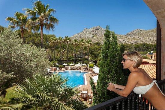 Hotel Cala Sant Vicenc: Vista Piscina