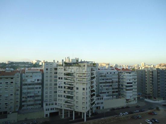Hotel Ibis Lisboa Jose Malhoa: Vue nord