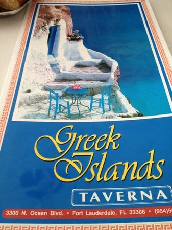 Greek Islands Taverna: Great atmosphere