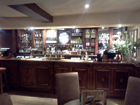 Wheatsheaf Hotel Baslow: Bar
