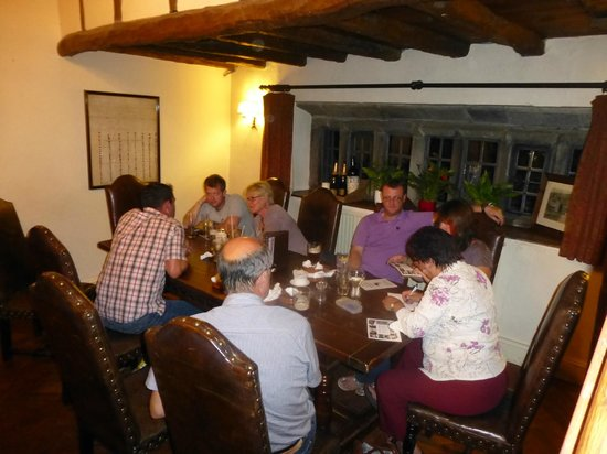 The Old Hall Inn: NWG Hot Pot Supper & Quiz 2013