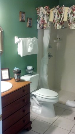 Centennial House Bed and Breakfast: Beautiful bathroom