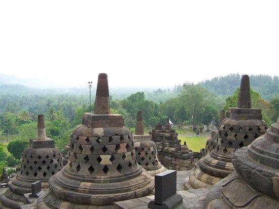 Candi Borobudur: stupa