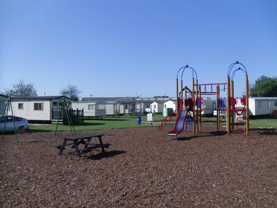 Suffolk Sands Holiday Park - Park Holidays UK : play area at Felixstowe Beach