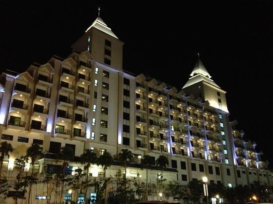 Fullon Hotel Danshuei Fishermen's Wharf: 福容飯店夜景