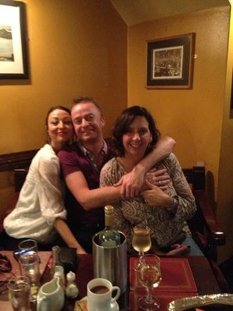 Kelly's Bar- Steak & Seafood House: Ginny (owner), Jacinta and myself at Kelly's yesterday