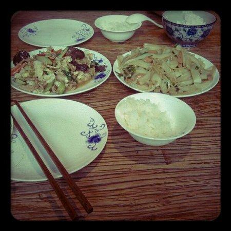 YiDe KeZhan : Noodle tipici di Pingyao