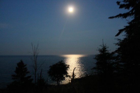 Surfside on Lake Superior: Sunset veiw from our patio-gorgeous