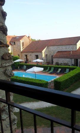 Domaine de Crecy: Another view from the room of the pool