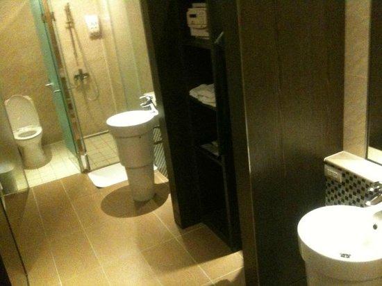 Look Hotel: salle de bain