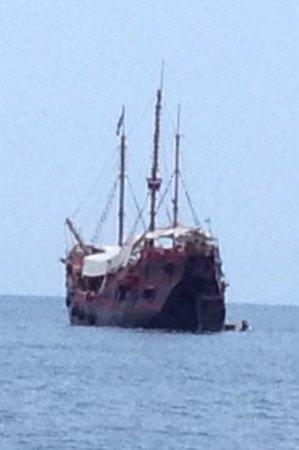 Marigalante - Mexico on Board Cruise: Marigalante desde la playa
