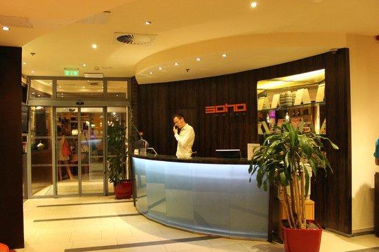 Soho Boutique Hotel : hall