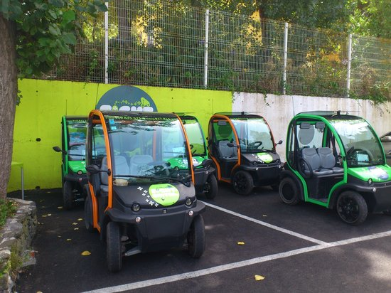 Sight Sintra Tours: the electric cars