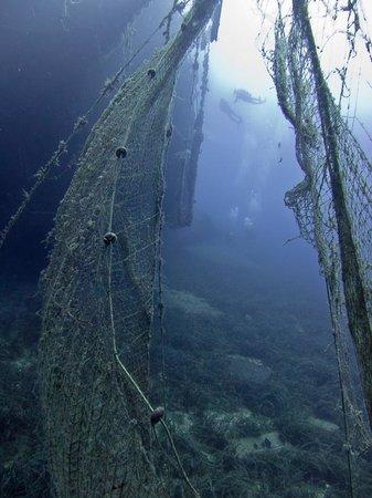 ScubAndros: Mastropetros wreck, sank 1999