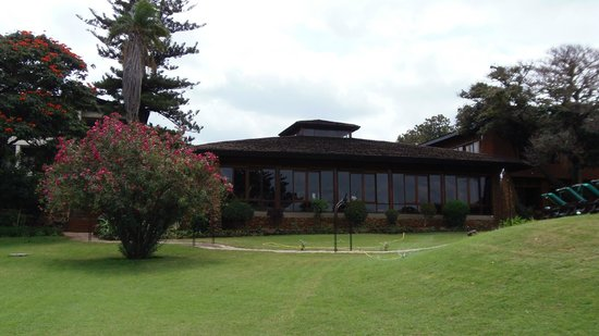 Lake Manyara Wildlife Lodge: il giardino