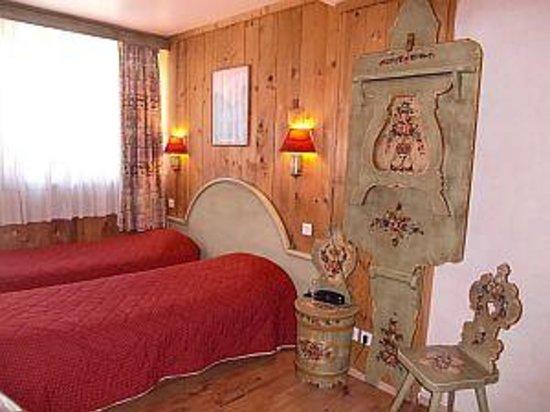 Hotel la Vallee Blanche: かわいい部屋です。